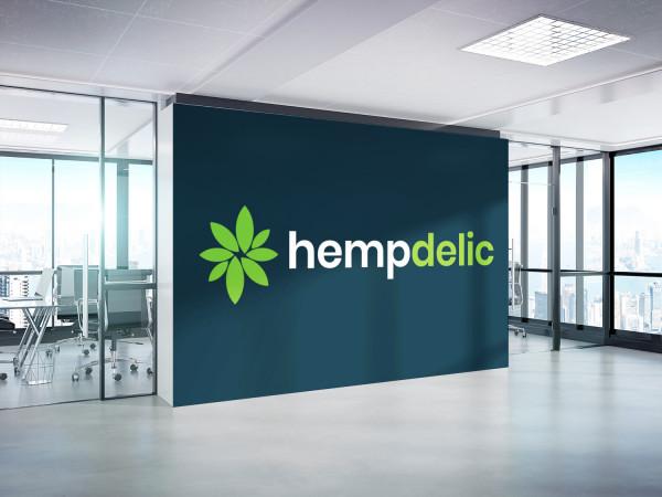 Sample branding #1 for Hempdelic