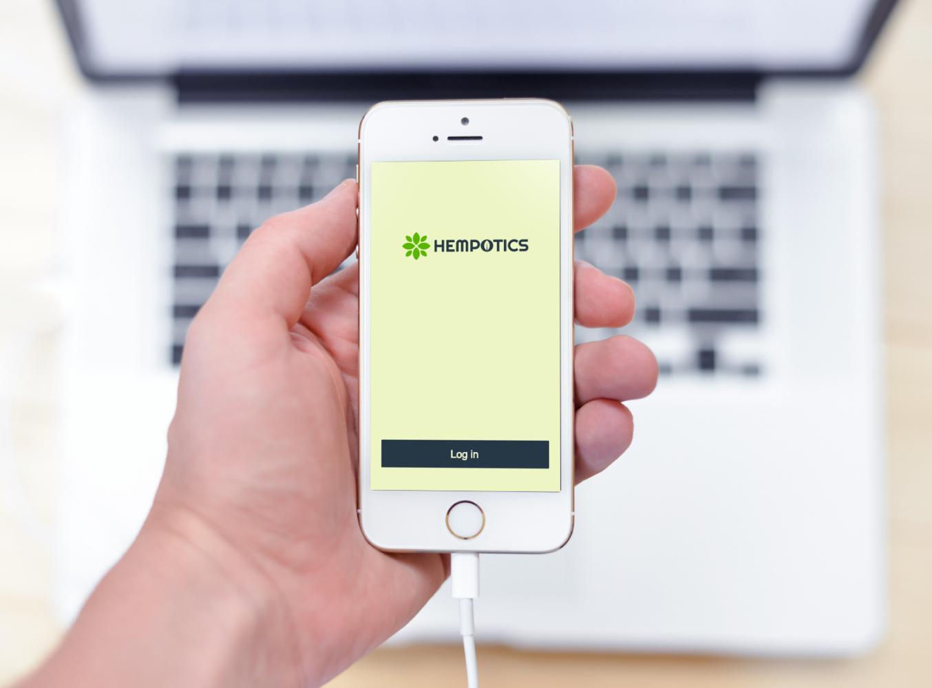 Sample branding #2 for Hempotics