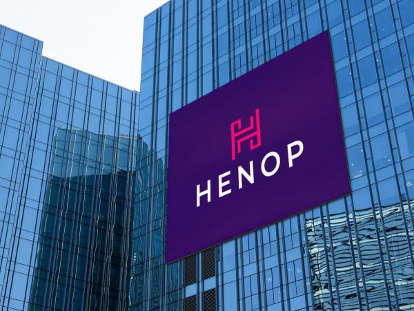 Sample branding #2 for Henop