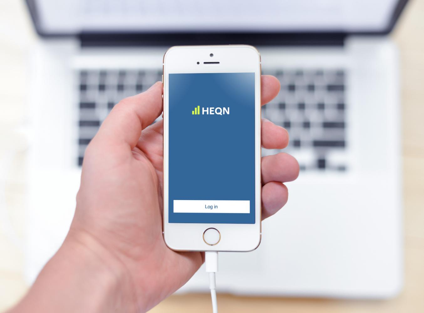 Sample branding #3 for Heqn