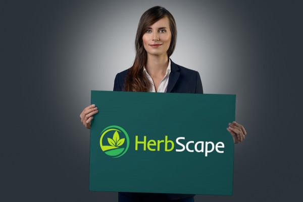 Sample branding #1 for Herbscape