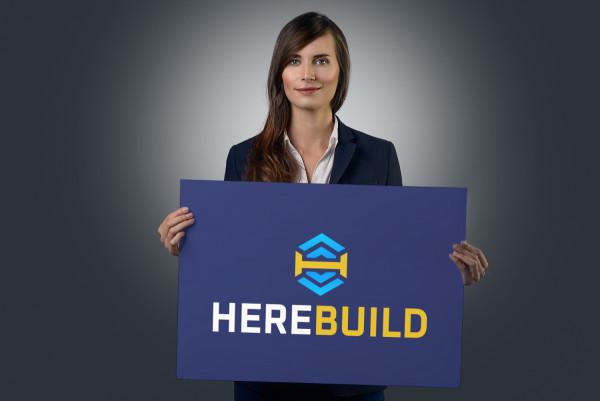 Sample branding #3 for Herebuild