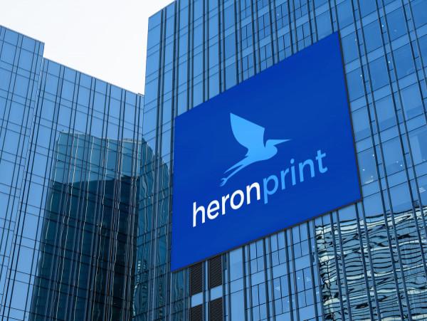 Sample branding #3 for Heronprint
