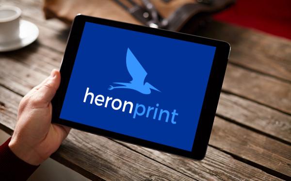 Sample branding #2 for Heronprint
