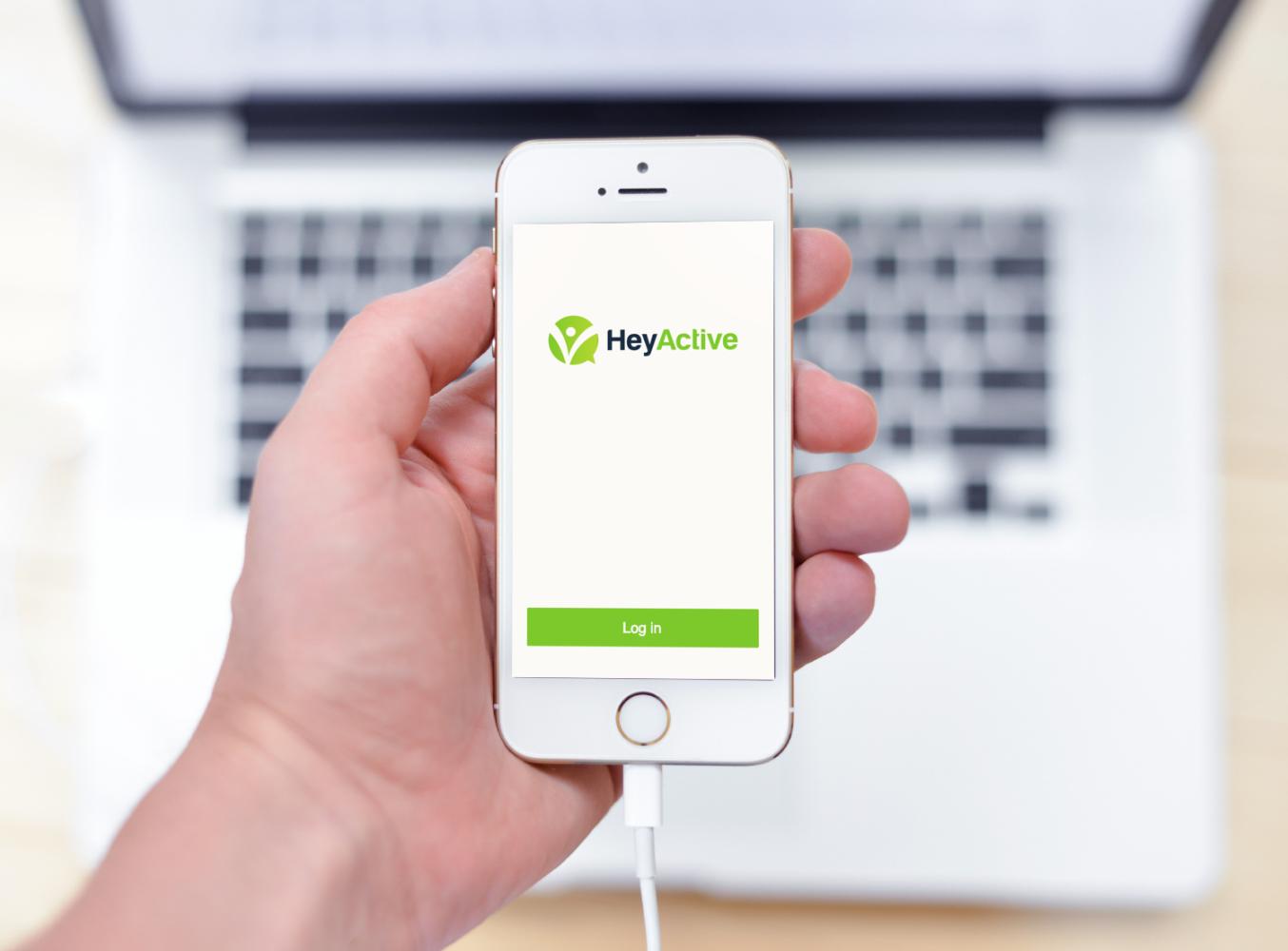 Sample branding #1 for Heyactive