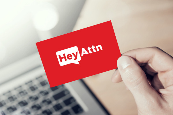 Sample branding #2 for Heyattn