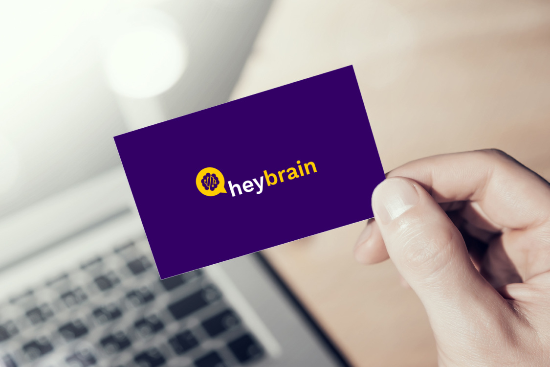 Sample branding #2 for Heybrain