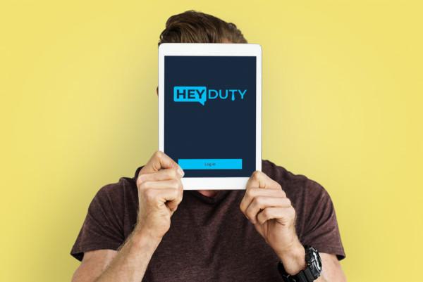 Sample branding #1 for Heyduty