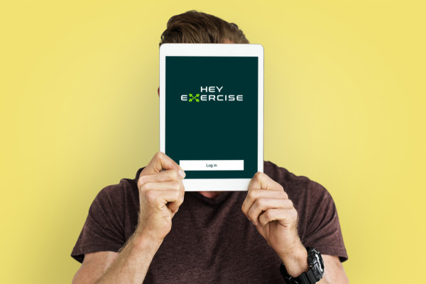 Sample branding #2 for Heyexercise