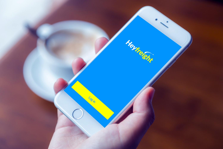 Sample branding #1 for Heyfreight