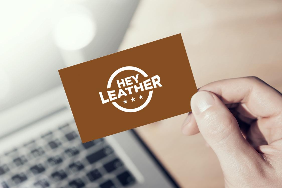 Sample branding #2 for Heyleather