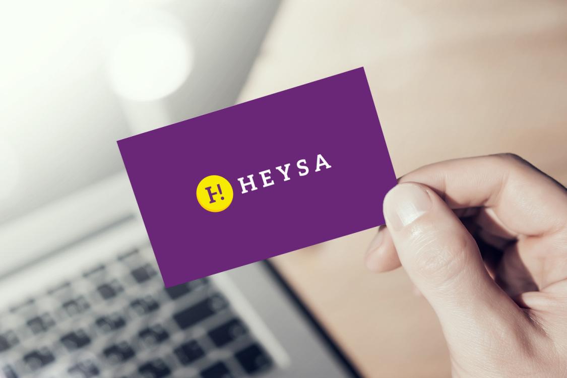 Sample branding #3 for Heysa