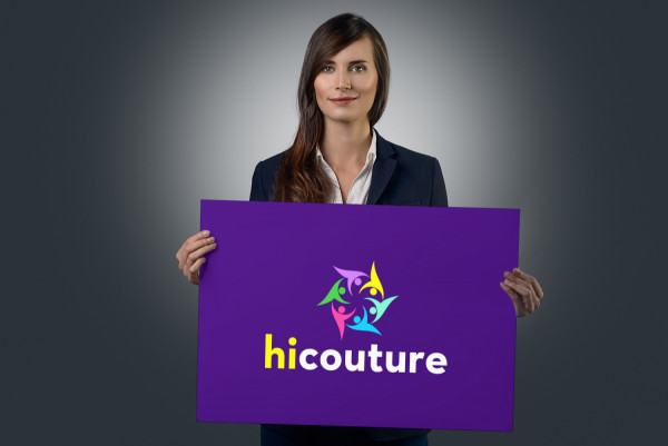 Sample branding #2 for Hicouture