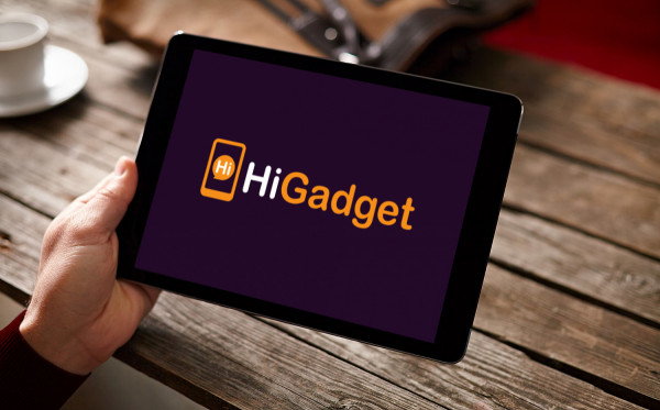Sample branding #2 for Higadget