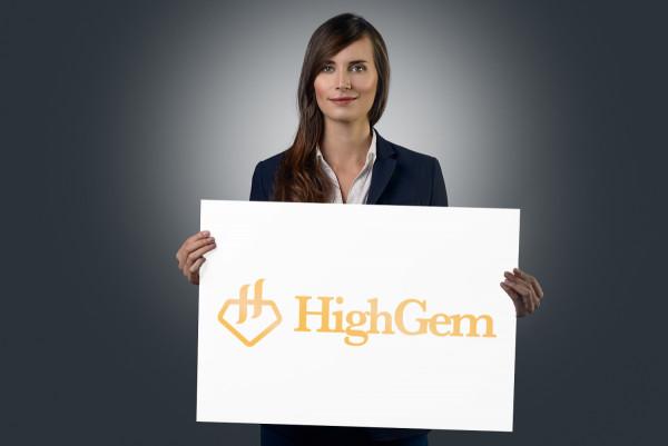 Sample branding #1 for Highgem