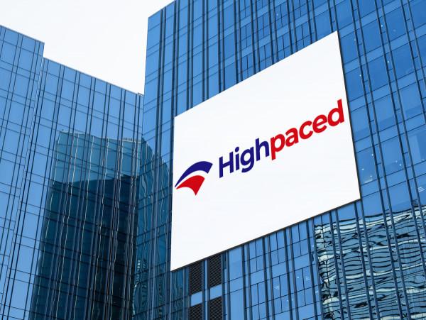 Sample branding #2 for Highpaced