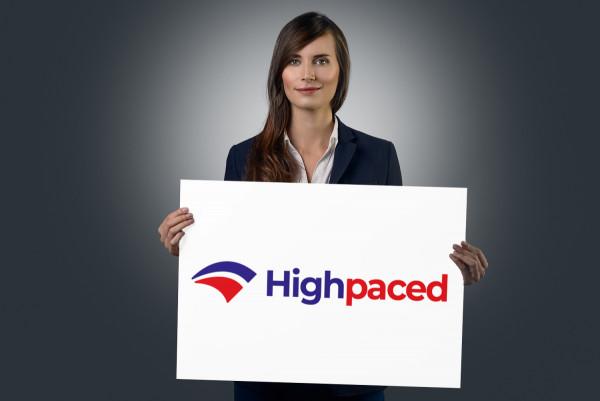Sample branding #1 for Highpaced