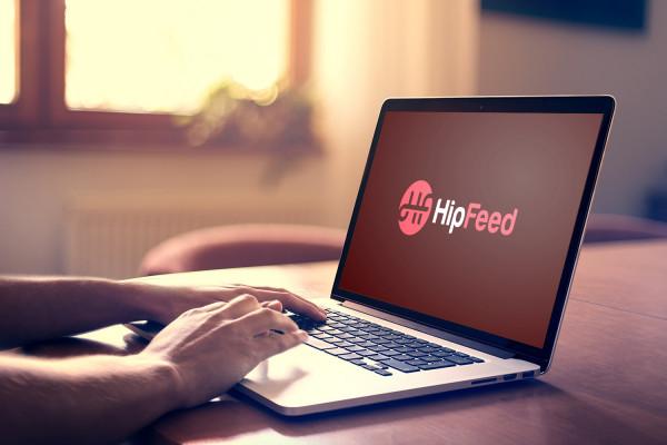 Sample branding #2 for Hipfeed