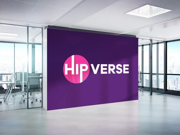 Sample branding #2 for Hipverse