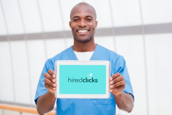 Sample branding #1 for Hiredclicks