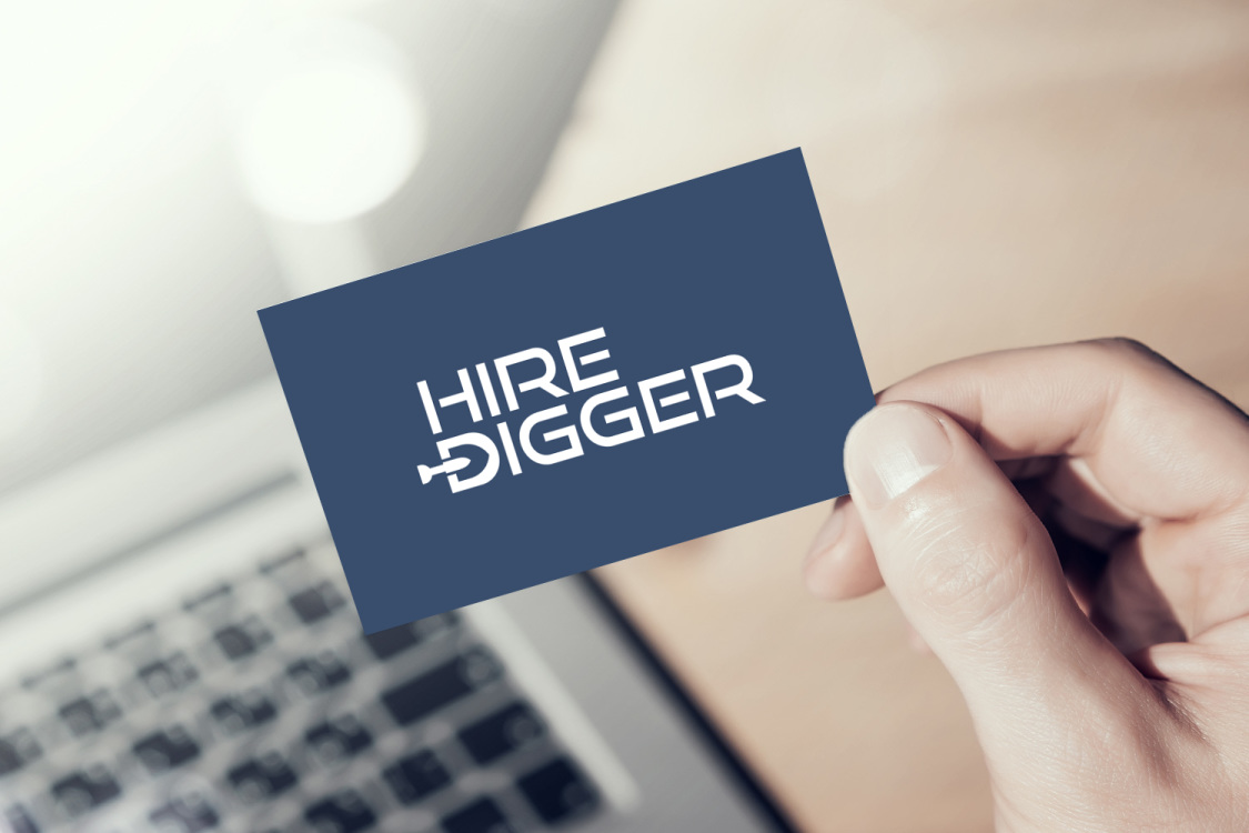 Sample branding #1 for Hiredigger