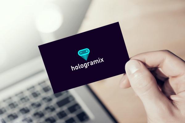 Sample branding #1 for Hologramix