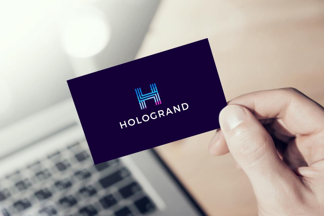 Sample branding #2 for Hologrand