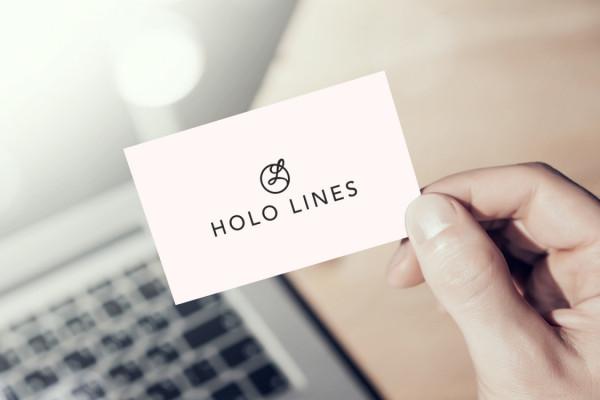 Sample branding #2 for Hololines