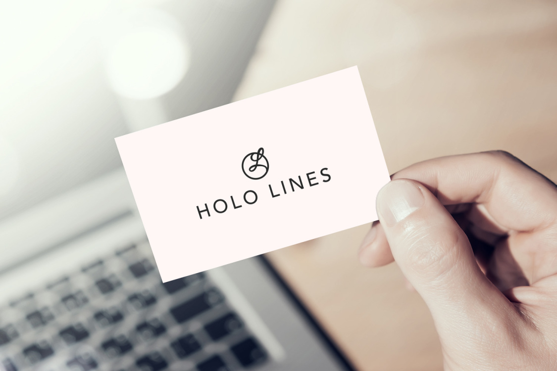 Sample branding #3 for Hololines