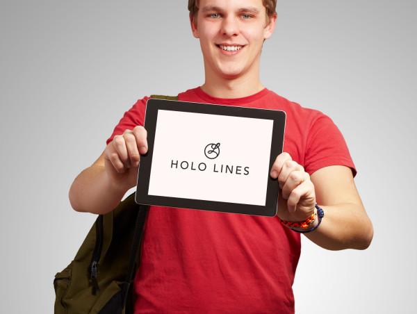 Sample branding #1 for Hololines