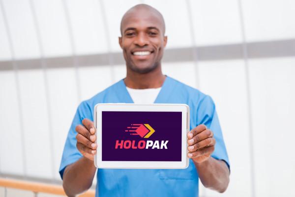 Sample branding #1 for Holopak