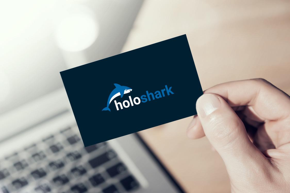Sample branding #2 for Holoshark