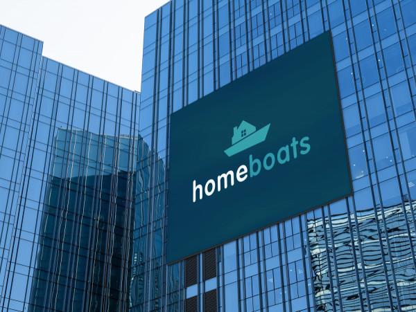 Sample branding #2 for Homeboats