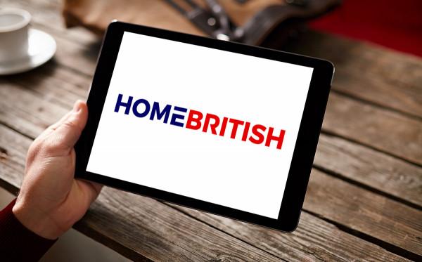 Sample branding #2 for Homebritish