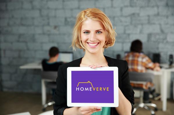 Sample branding #3 for Homeverve