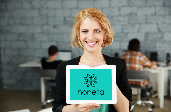 Sample branding #3 for Honeta