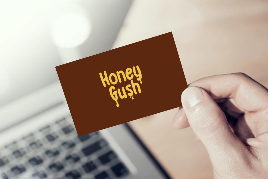 Sample branding #2 for Honeygush