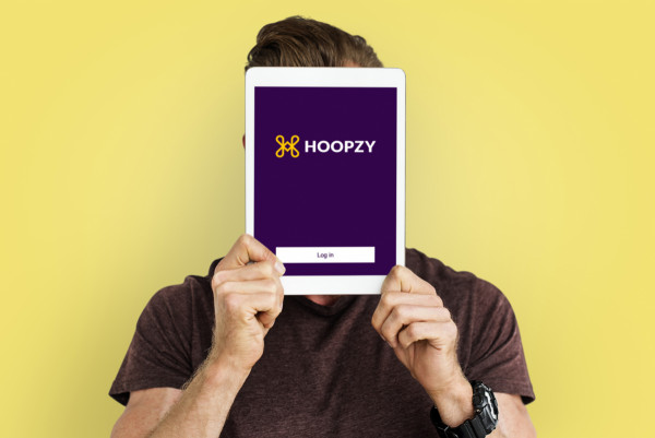 Sample branding #2 for Hoopzy