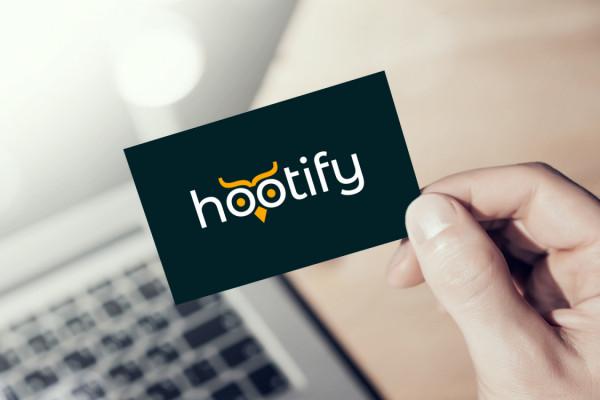 Sample branding #3 for Hootify