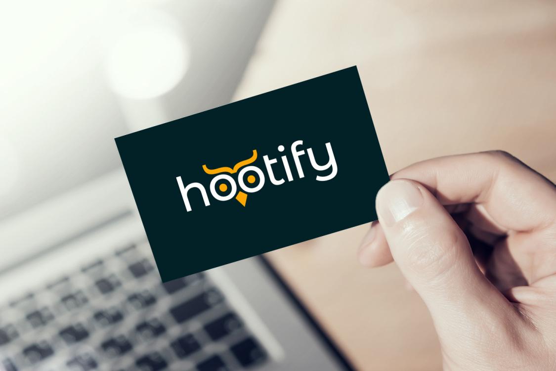 Sample branding #2 for Hootify