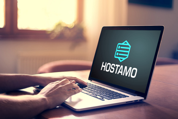 Sample branding #3 for Hostamo