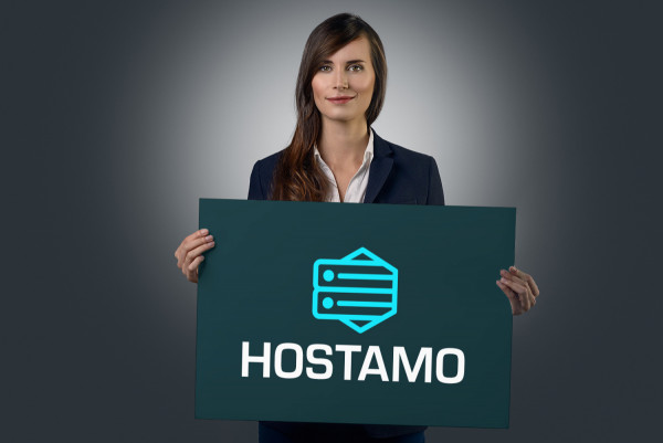 Sample branding #2 for Hostamo