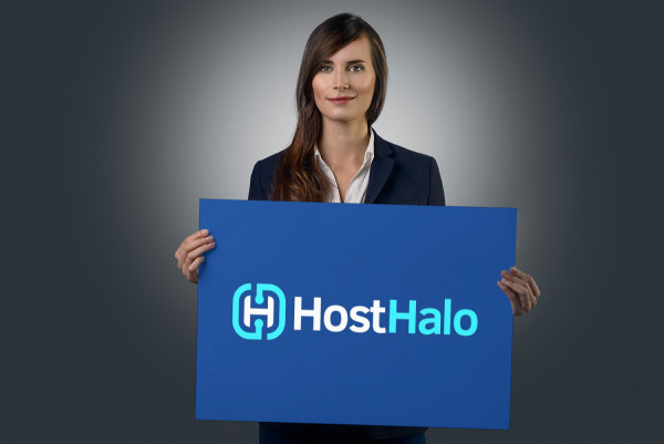 Sample branding #2 for Hosthalo