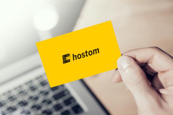 Sample branding #3 for Hostom