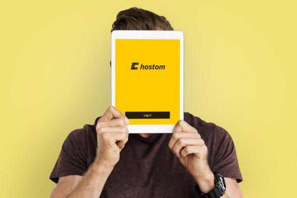 Sample branding #1 for Hostom
