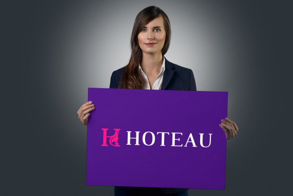 Sample branding #1 for Hoteau