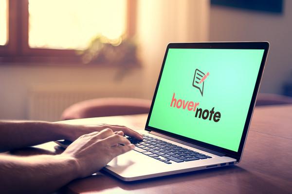 Sample branding #2 for Hovernote