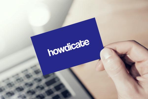 Sample branding #1 for Howdicate