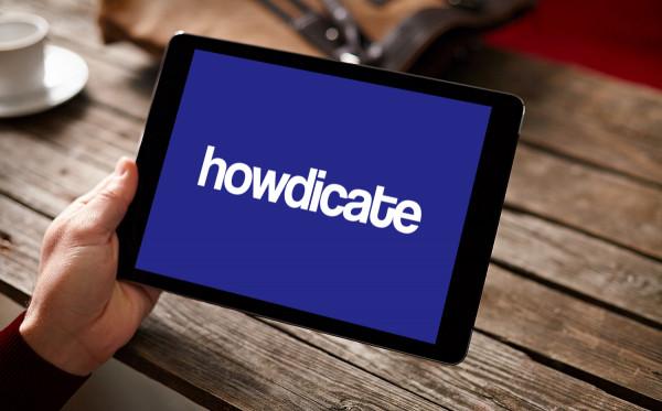 Sample branding #3 for Howdicate