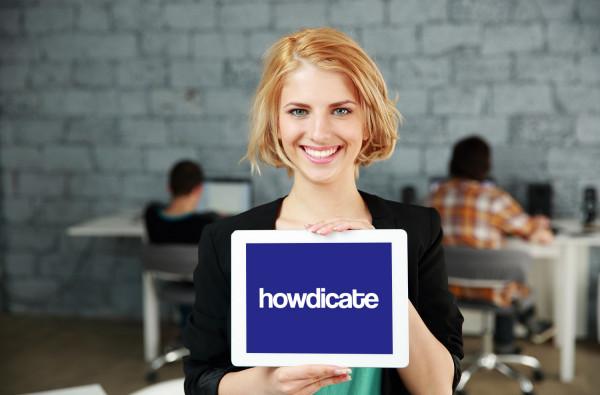 Sample branding #2 for Howdicate